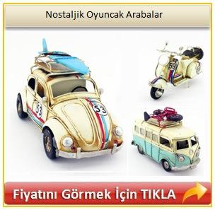 hediyelik nostaljik arabalar