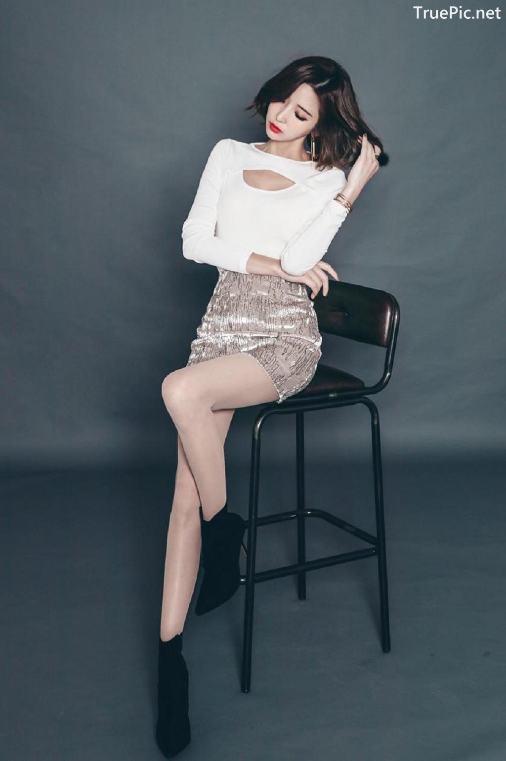 Image Ye Jin - Korean Fashion Model - Studio Photoshoot Collection - TruePic.net - Picture-4
