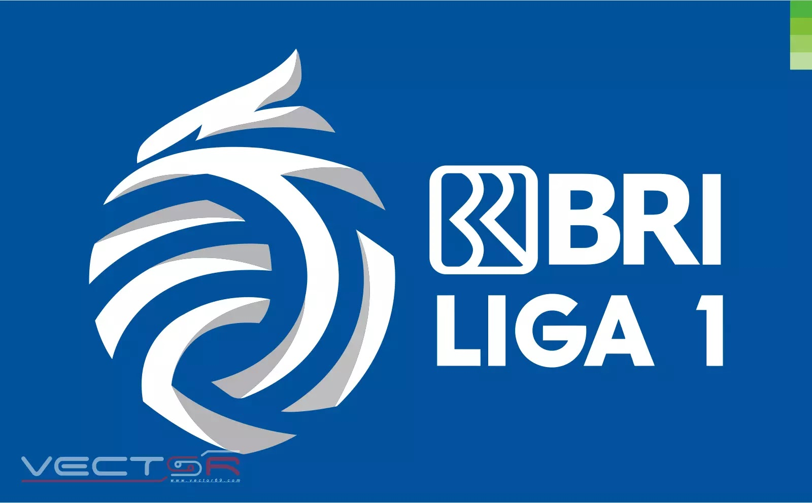 BRI Liga 1 Indonesia Secondary Logo - Download Vector File CDR (CorelDraw)