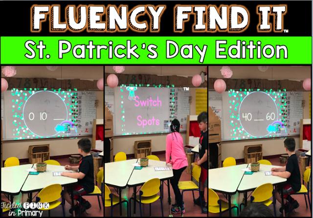 St. Patrick Day Fluency