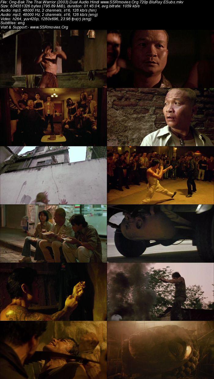 Ong-Bak The Thai Warrior (2003) Dual Audio Hindi 720p BluRay
