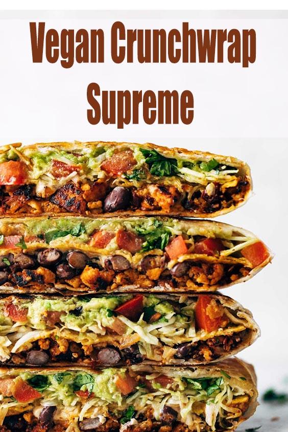 Vegan Crunchwrap Supreme