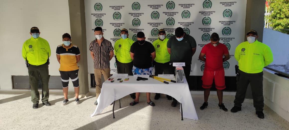 Seis de 'Los Eléctricos' fueron enviados a la cárcel