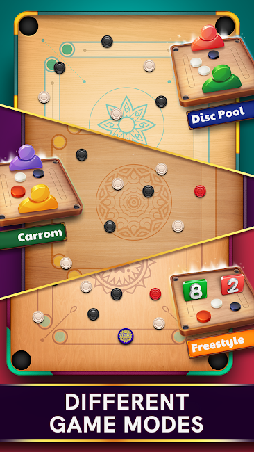 Download Latest Version of Carrom Pool Mod Apk v3.0.1 Unlimited Coins