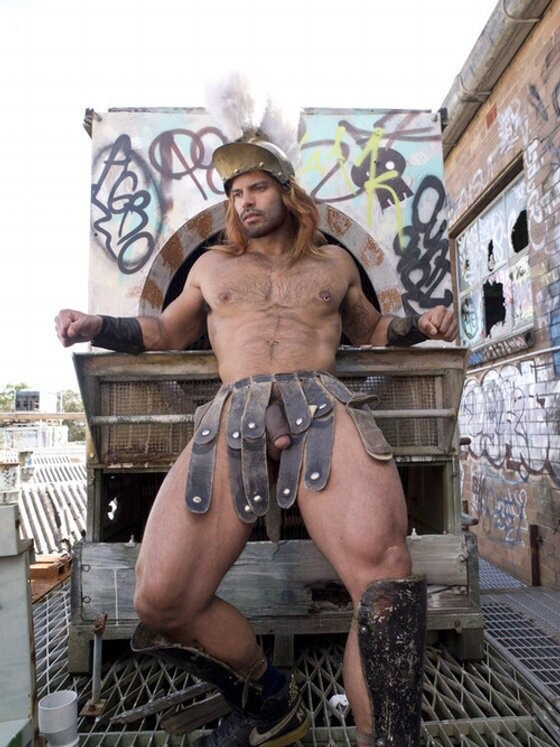 Gay man who dressed as a gladiator sues after he was arrested for violating nudity laws