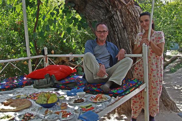 Tajikistan, Dushanbe, Buvak village, Munira, © Morhu, 2012