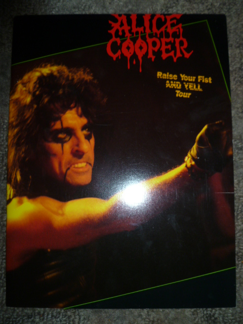 Acidica S Site Alice Cooper Tour Program 1988