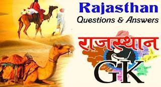 Rajasthan GK Online Quiz In Hindi  Rajasthan GK Quiz In Hindi Online