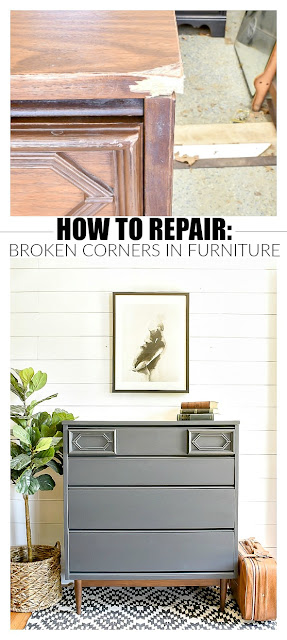 How to Repair Damaged Furniture Corners