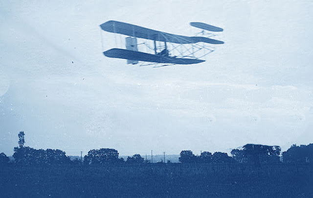1905 The First Practical Airplane illustration