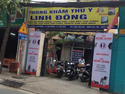 Khách sạn chó mèo Linh Đông (Thủ Đức)