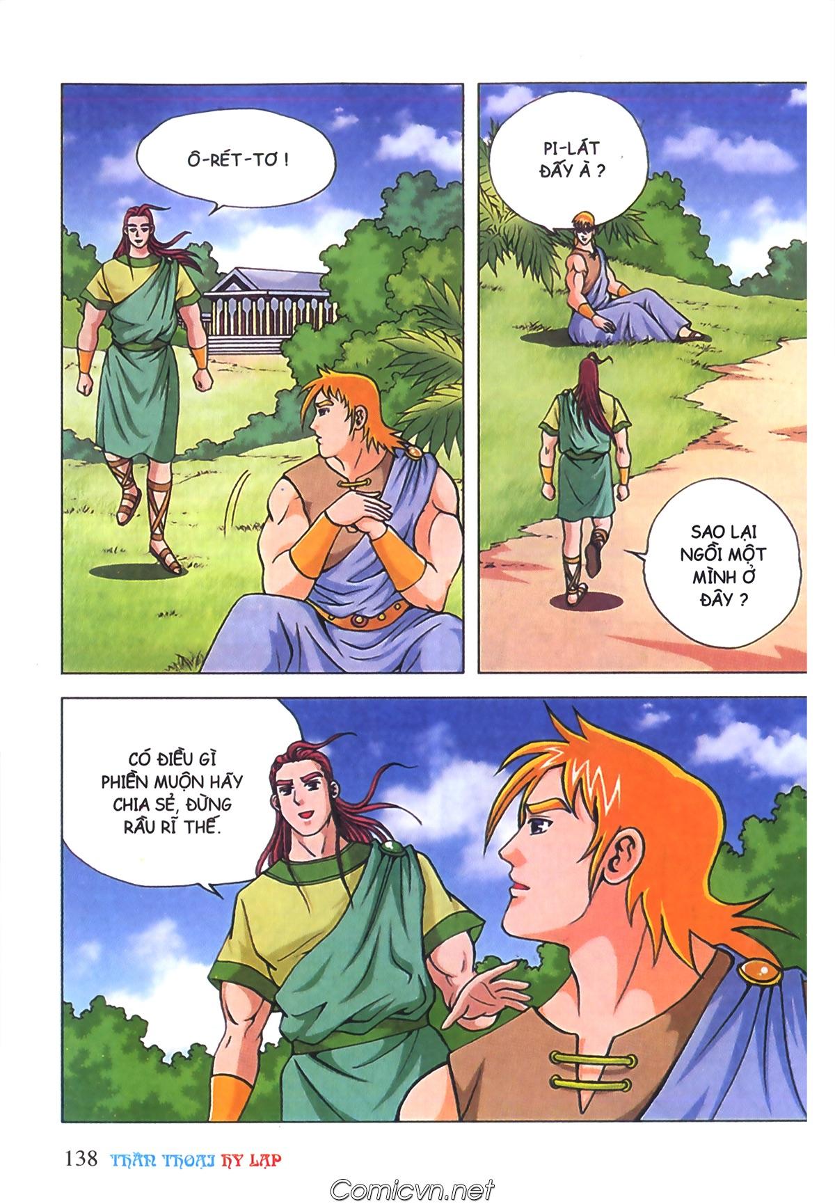 Thần Thoại Hy Lạp Màu - Chapter 70: Nàng Ê lếch tơ - Pic 31