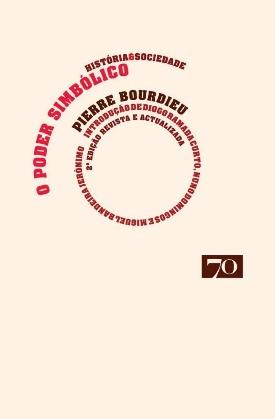 Livro: O poder simbólico / Autor: Pierre Bourdieu