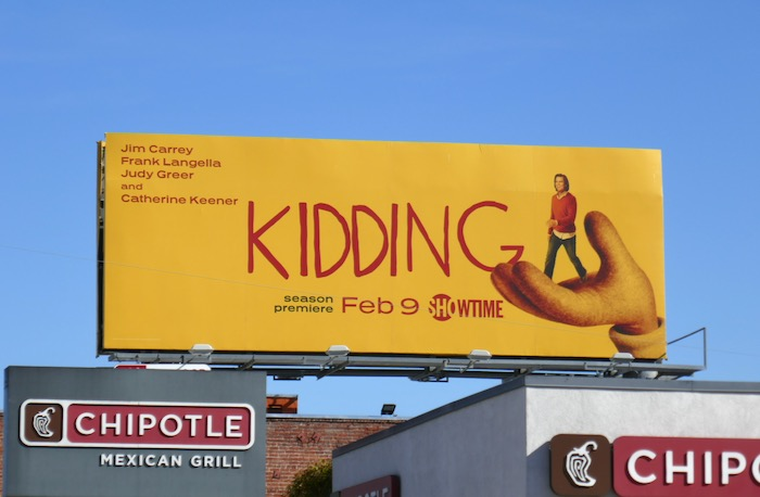 Kidding season 2 billboard
