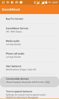 cara atasi mode headset android menggunakan soundabout