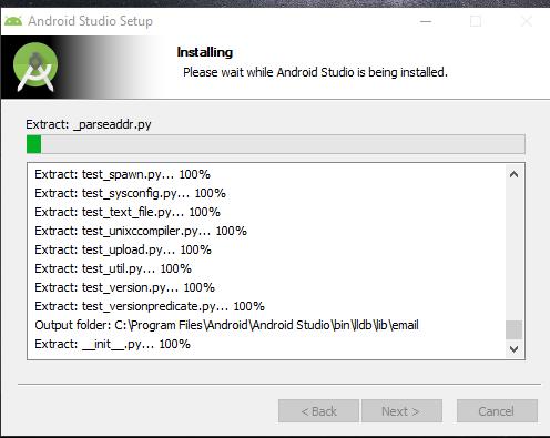 proses Instalasi Android Studio