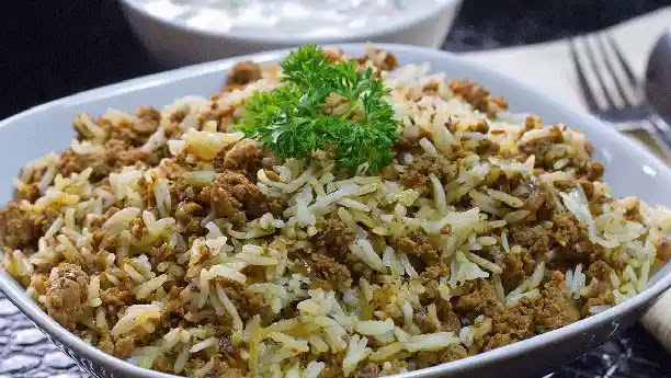 Delicious keema biryani   How to make keema biryani at home