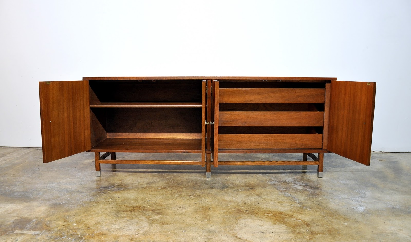 Select Modern Stanley Furniture Credenza Bar Buffet