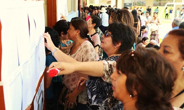 Encuesta de intención de voto según CPI