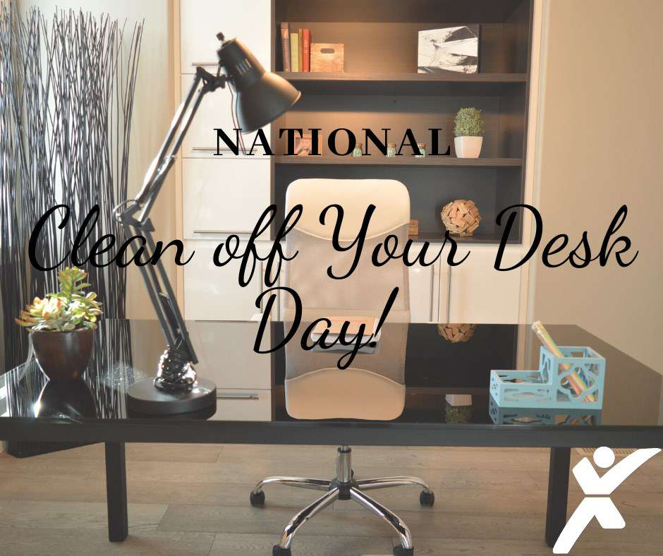 National Clean Your Desk Day Wishes Sweet Images