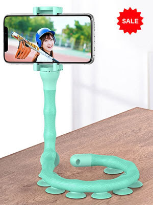 Multi-Functional Worm Snake Smart Phone Holder with Long Arms