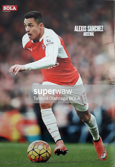 ALEXIS SANCHEZ ARSENAL 2016