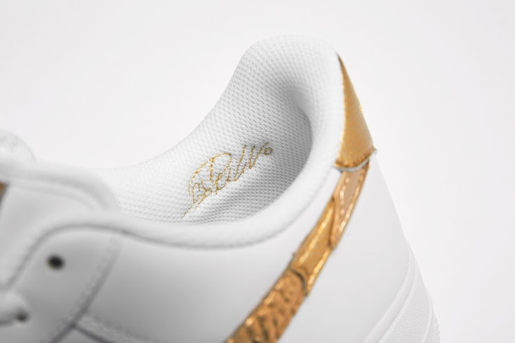 Inferior Ingenieria acceso  Release Tomorrow: Nike Air Force 1 CR7 'Golden Patchwork' Sneaker Revealed  - Footy Headlines