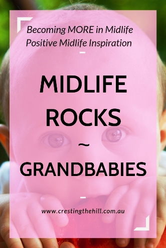 MIDLIFE ROCKS! ~ getting to see your children's children is so special #grandkids