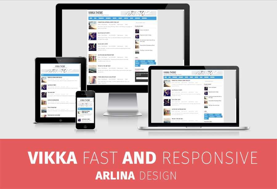 22 Template Blogger Responsive and SEO Friendly Free Download Gratis