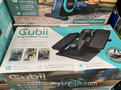 Costco 1397233 - Cubii Jr Seated Elliptical: easy, convenient, and good for your health