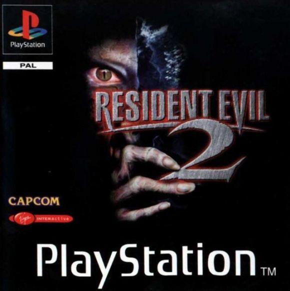 Resident Evil 2 - PSX - Portada