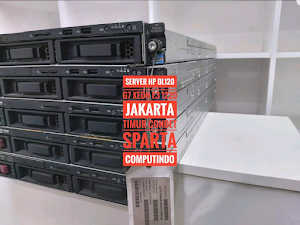 Jual Server Rackmount 1U HP Proliant DL120 G7 Murah Xeon E3-1220 1U Memory 8 Gb Ddr3 Hardis 1 Tb Gb