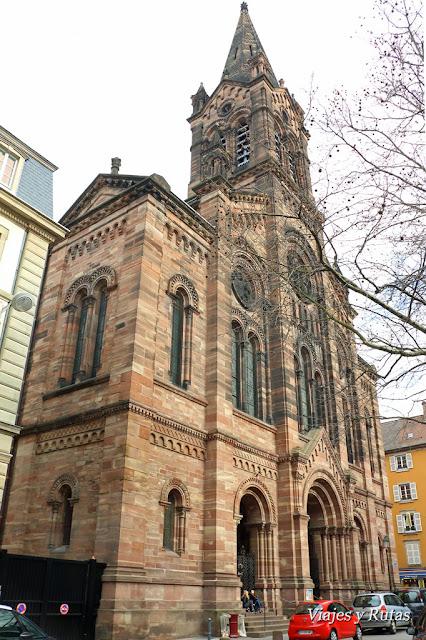 Templo Nuevo, Estrasburgo