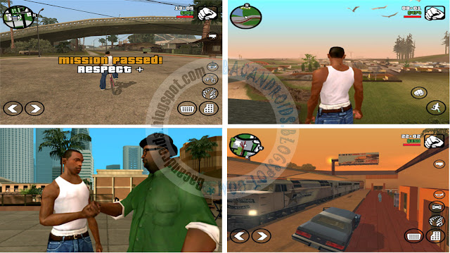 Game GTA San Andreas Lite High Compress gratis untuk android