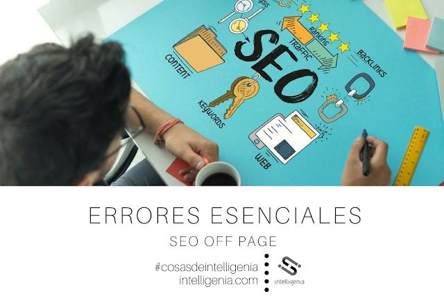 Errores Esenciales en SEO Off Page