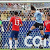 Cavani helped Uruguay grab the top of the table from Chile