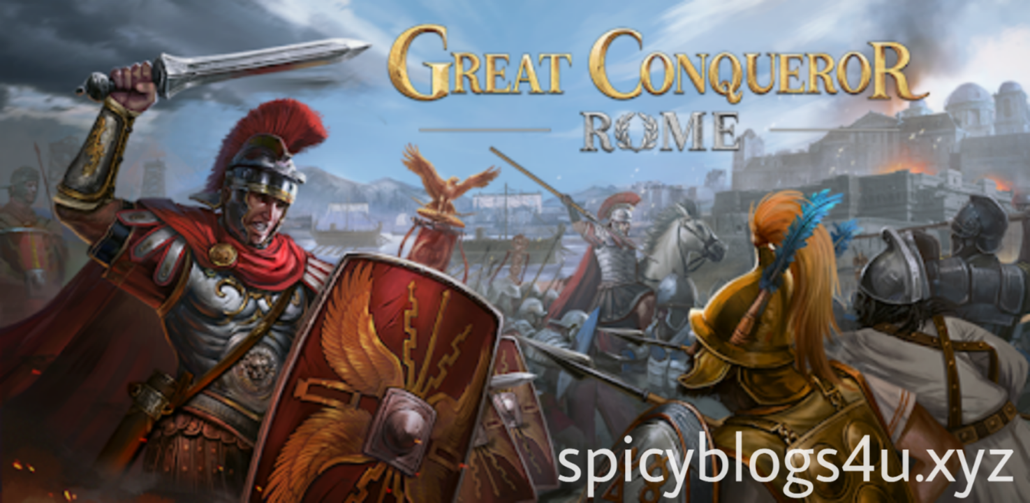 Download Great Conqueror: Rome v1.4.12 Free Mod  APK | Spicyblogs4U