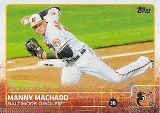 Manny Machado, 2015 Topps #136
