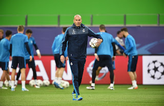 Real Madrid boss Zinedine Zidane release squad for the match against Valencia