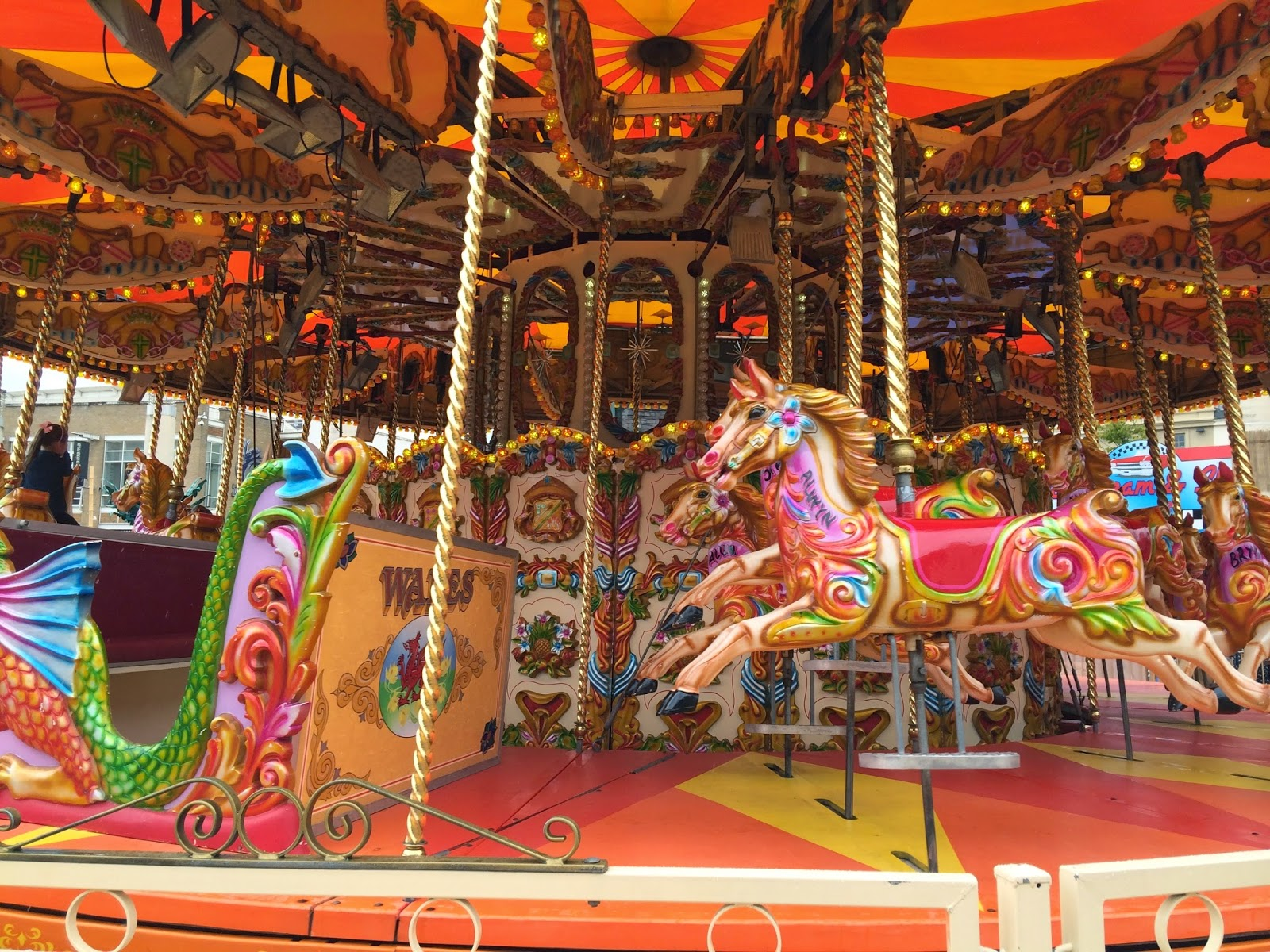 Carousel, Cardiff Bay Beach, Cardiff Bay, Things to do in Summer in Cardiff, Cardiff, Tiger Bay