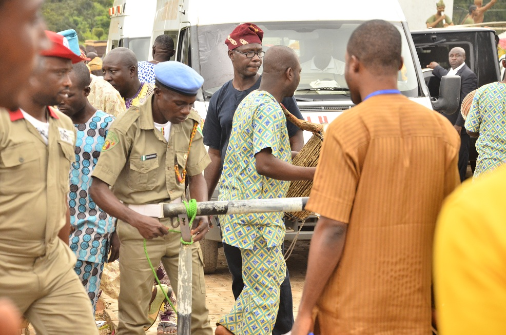 Photos: Nigeria Peace Corps, Osun State Command and other