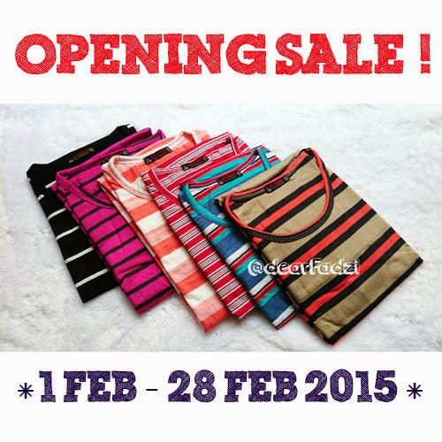 Opening Sale Dear Fadzi