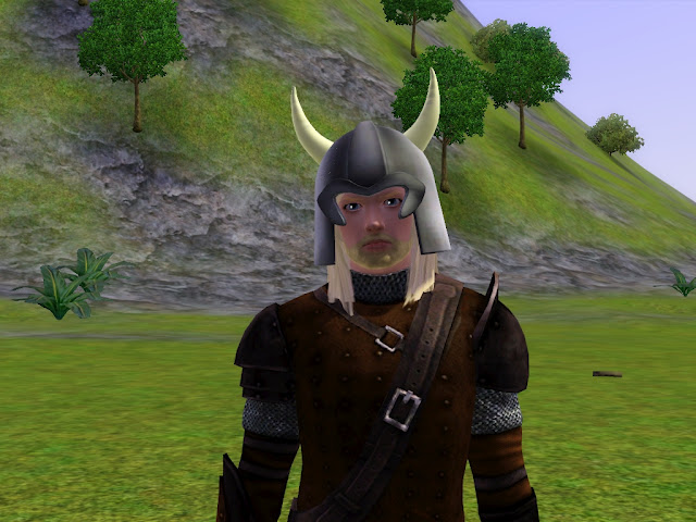 My Sims 3 Blog Viking Helmet For Males And Females By Sil Sharkie