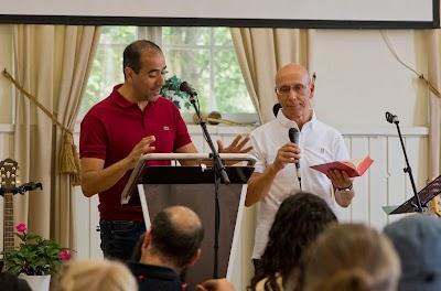 Besök från Israel College Bible School