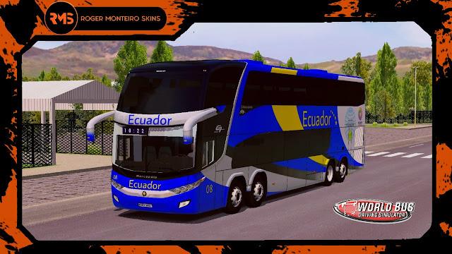 Transporte Ecuador, Skins