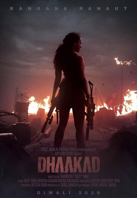 Dhaakad Movies First Look, Poster