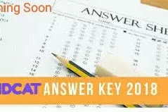 MDCAT Answer Key 2019 official