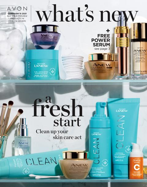Click On Image To Learn About Avon What's New Campaign 15 2021
