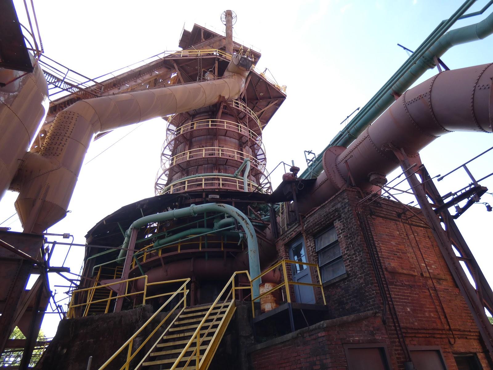 Blast Furnace Lime : Zippypinhead sloss furnace historic landmark