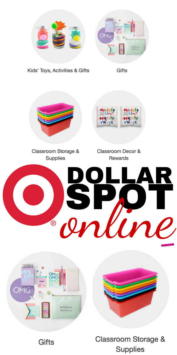 How To Shop The Target Dollar Spot Items Online
